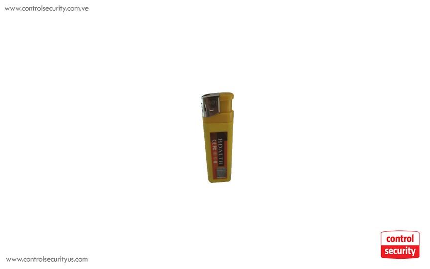 Yellow lighter with mini Spy Camera